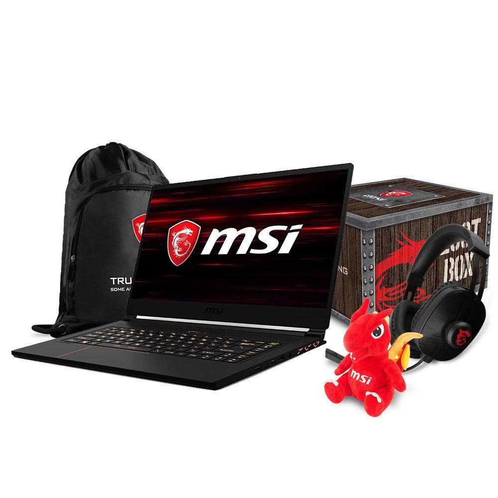 "MSI GS65 Stealth THIN-054 Gaming Laptop 15.6"" GTX1070, i7-8750H, 16GB, 256GB SSD"