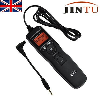 Jintu Time Lapse Intervalometer Timer Remote Control for Canon 6D 7D 5D II III