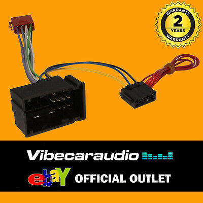 Citroen Relay 2014> Car Stereo ISO Wiring Harness Adaptor Loom CT20FT04