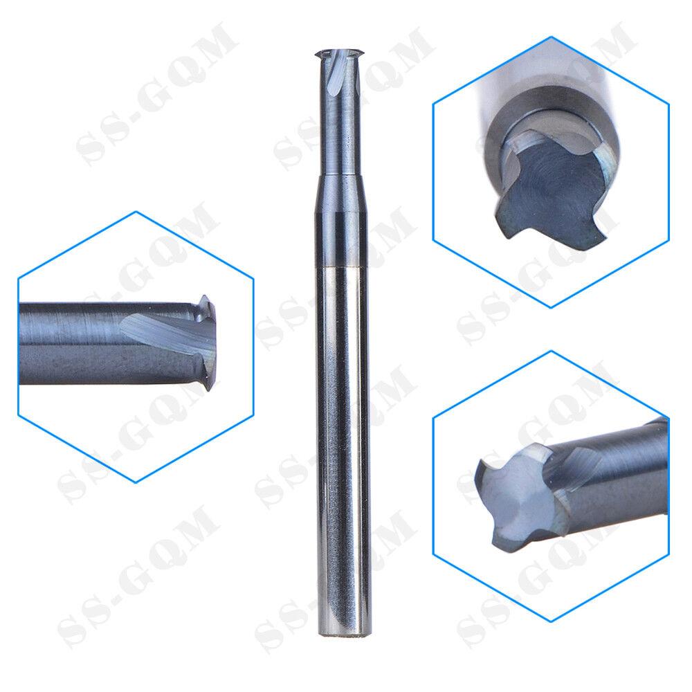 Tungsten Carbide Thread Milling Cutter Tool TiAIN Coat  British Standard LWG1//16