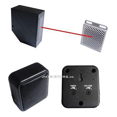 IR Infrarot Lichtschranke mit Alarmgeber Durchgang Melder - Haus Geschäft Laden