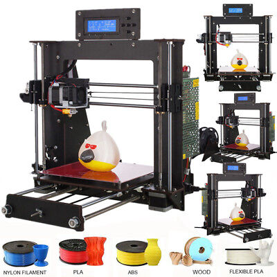 CTC A8 Prusa i3 Komplettpaket als Bausatz 3D Drucker, 220V 3D Printer LCD DE