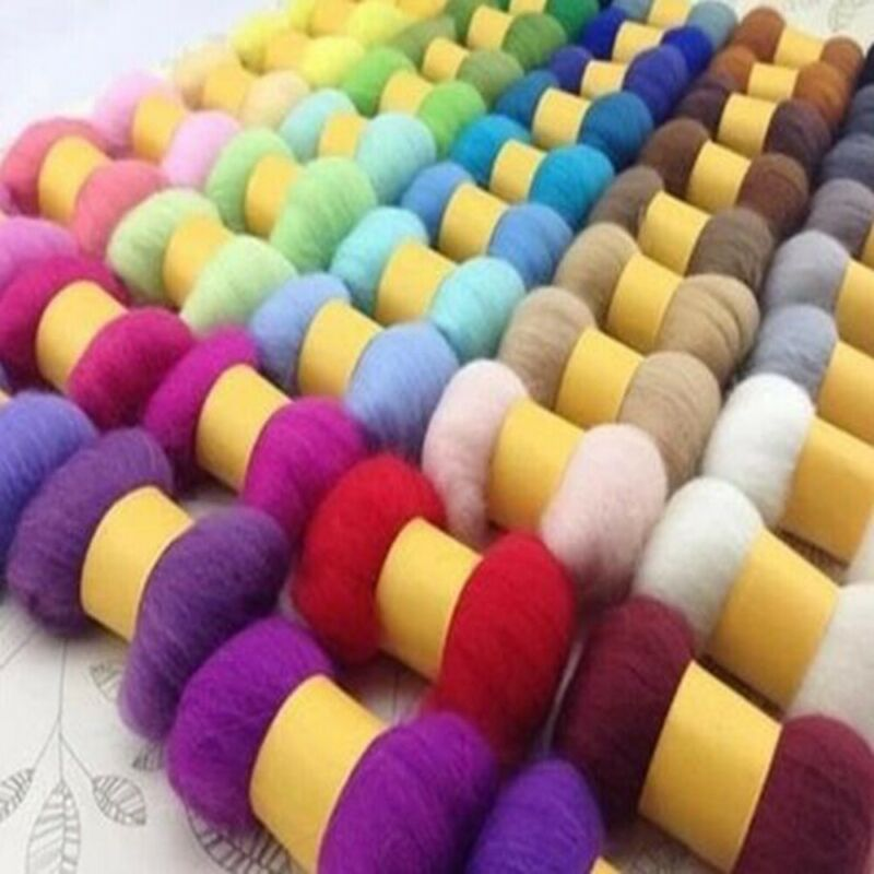 36pcs DIY Wool Felt Needles Tools Set Accessories Needle Felting Mat Starter