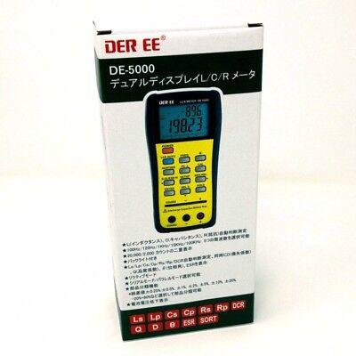 Der Ee De-5000 High Accuracy Handheld Lcr Meter Only Metar New Fs