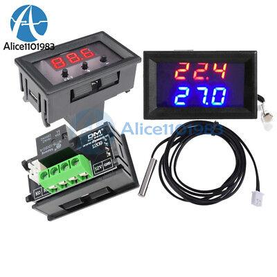 50-110c W1209wk W1209 12v Digital Thermostat Temperature Controller Sensorcase