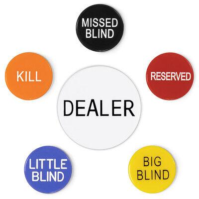 Dealer Button Set - Poker Button Set: 2