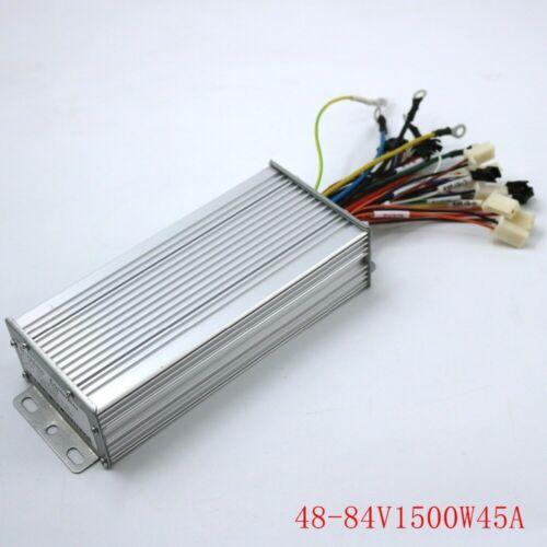 DC Motor Controller Brushless 48-84V 1500W 45 Amax Dual Mode Sensor Sensorless