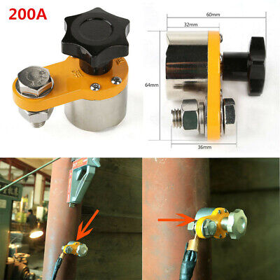 200a Magnetic Welding Ground Clamp Welding Holder Connector 30kg Force Mwgc1-200
