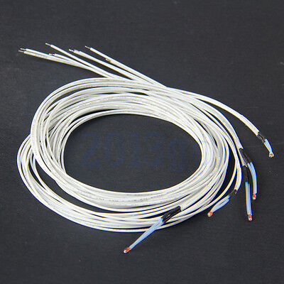 5pcs Reprap Ntc Thermistor 3950 100k With 1 Meter Wire For 3d Printer New Yg