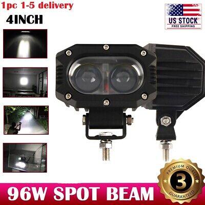 Led Light Cubes (4inch 48W Spot Led Work Light Fog Reverse Cube Pod For Offroad Truck SUV ATV)