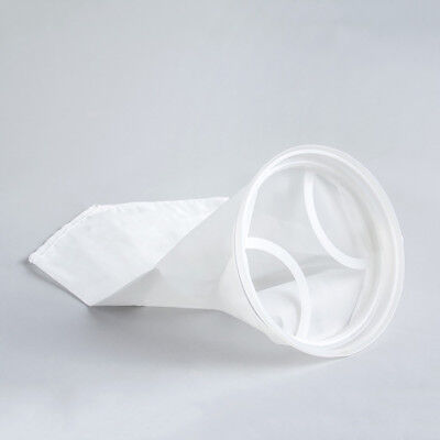 Qty Of 5 Polyester Mesh Filter Bags 100 Microns 7 Polypro Collar X 32 Long Wvo