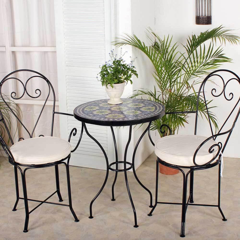 marokkanischer mosaiktisch orientalischer tisch bistrotisch gartentisch 60cm ira ebay. Black Bedroom Furniture Sets. Home Design Ideas