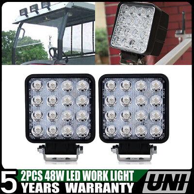 28a673 Work Lamp Light For Volvo Kubota Jcb Manitou Case Terex 12 V 48 Watt X2