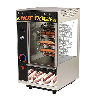Star 174cba 18 Hot Dog Capacity Broil-o-dog Hot Dog Broiler Rotisserie
