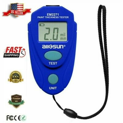 Lcd Digital Auto Pro Car Paint Coating Thickness Tester Measuring Gauge Meter