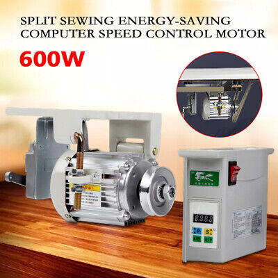 600w Brushless Servo Motor For Industrial Sewing Machine With Clutch 500-4500rm