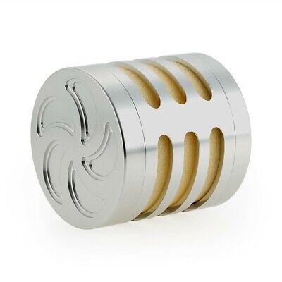 Car Parts - Silver-Aluminum Air Filter With Sponge for RC 1/5 Scale Baja Rovan Car Parts