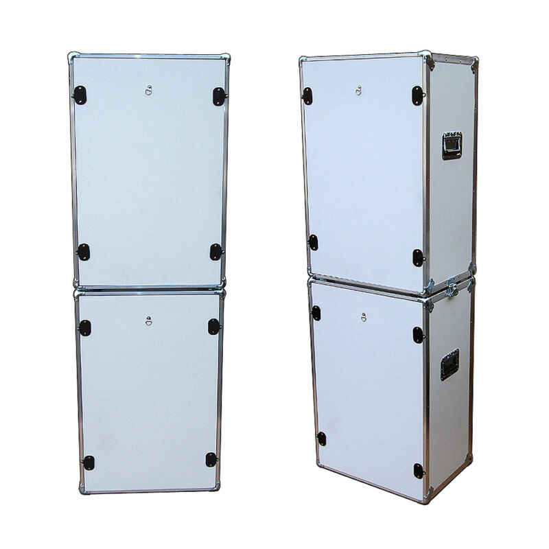 Photo Booth Set  - 2 ATA Style Cases w/Wheels -
