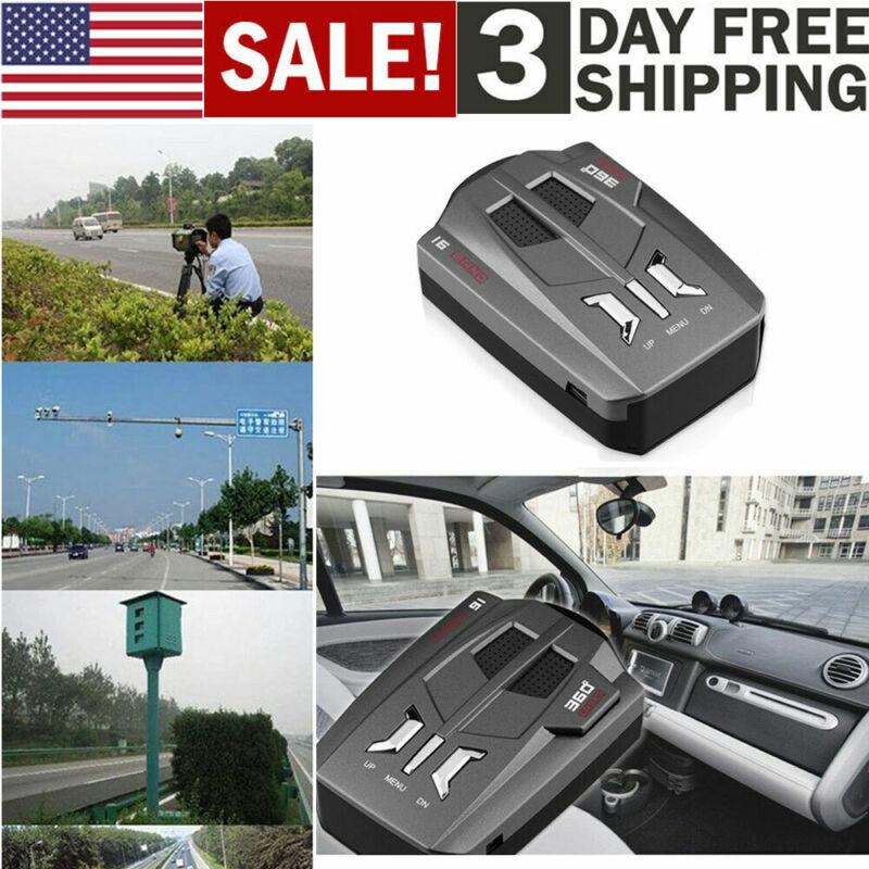 Car-radar 16 Band V9 360°gps Speed Police Safe Detector Voice Alert Laser