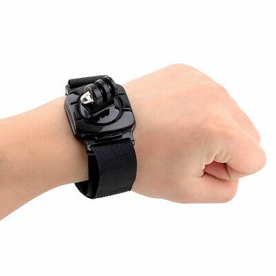 Fascia polso sport supporto polsiera per GoPro Hero 1 2 3 3+ 4 5 braccio fitness