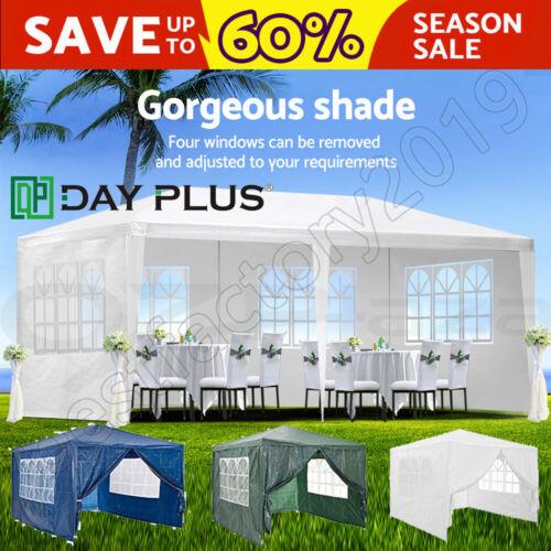 Dayplus Pavillon 3x3m 3x4m 3x6m Pavillion Partyzelt Gartenzelt Wasserdicht Zelt