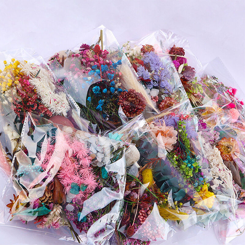1 Bag Mixed Dried Flowers Photo Frame Handmade Candle Resin Epoxy Making DIY