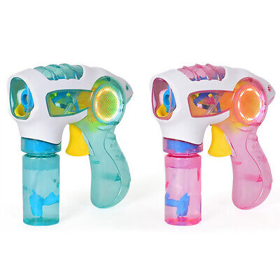 Bubble Machine Flashing Light Up  Random Color Children  Blowing Reliable - Flashing Light Machine