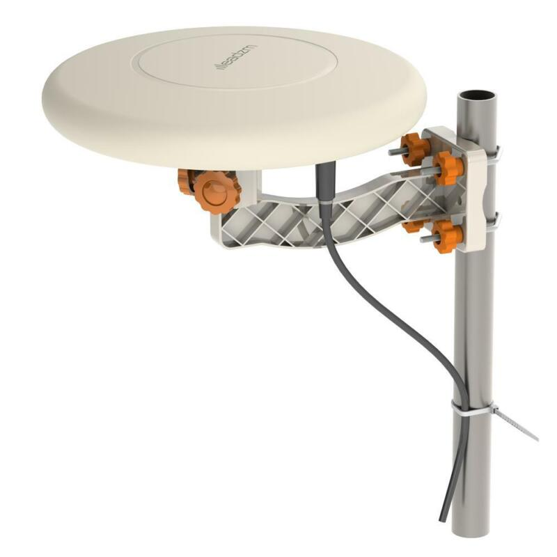 HDTV Outdoor Amplified TV Antenna 360° Omni-Directional Digital HD 1080P 4K