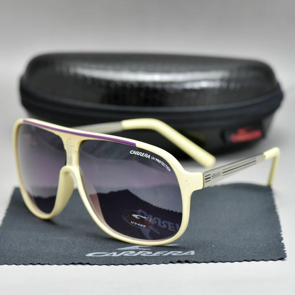 BOX 2019 New Aviator Men's/&Women's Sunglasses Unisex Retro Carrera Glasses C-01