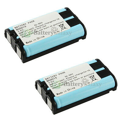 2 Home Phone Rechargeable Battery for Panasonic HHR-P104 HHR-P104A 2,400+SOLD