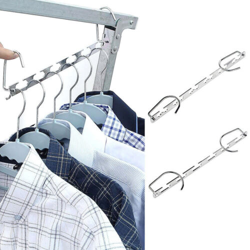 6pcs Wonder Closet Organizer Space Saver Magic Hanger Clothing Rack Clothes Hook