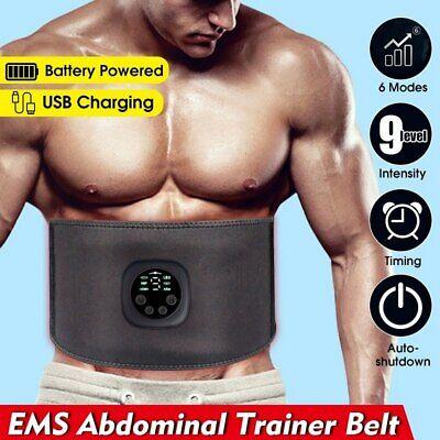 Smart ABS Bauchmuskeltrainer Toning Belt EMS Stimulator Home Trainingsgürtel