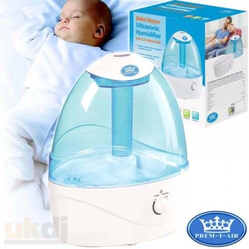 Details about Prem I Air Bébé Mini Ultrasonic Air Humidifier 2.5L Quiet Operation Baby Child
