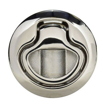Southco M1-63-8 Flush Pull Latch Pull To Open - Non-locking - Polished Stainless