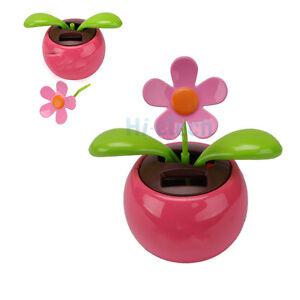 1-Flip-Flap-Solar-Powered-Flower-Flowerpot-Swing-Dancing-Toy-Gift-Pink-HK