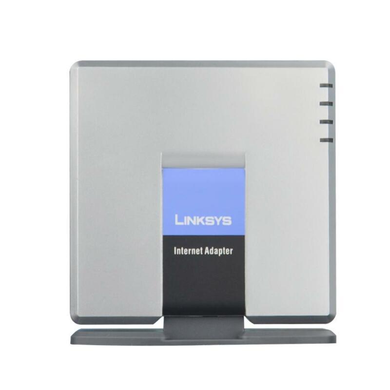 Unlocked Linksys SPA3000 VoIP Phone Adapter VoIP FXS FXO PSTN Unlocked Gateway