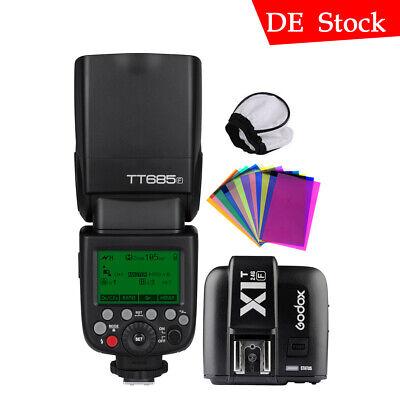 Godox TT685F TTL Cámara Flash Speedlite X1T-F Transmisor para Fujifilm Xpro1/2