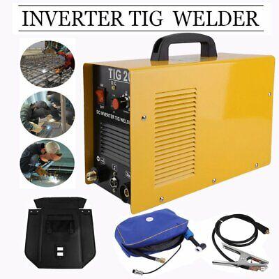 Portable Tig-200 Welder Welding Machine 200amp 220v Dc Inverter Accessories E8