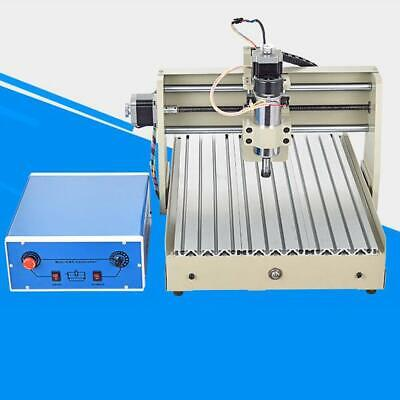 Ac110v Cnc 3040 3 Axis 400w Router Engraving Machine Desktop Carving Machine New