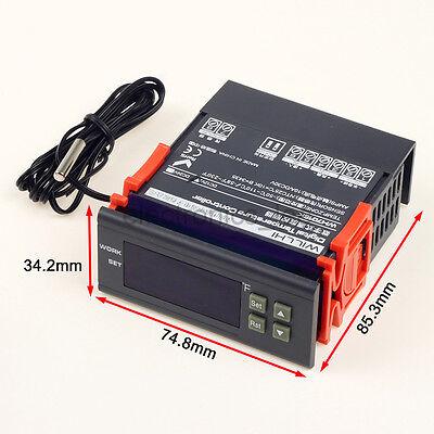 Dc12v 24v  Centigrade Fahrenheit Digital Temperature Controller Thermostat
