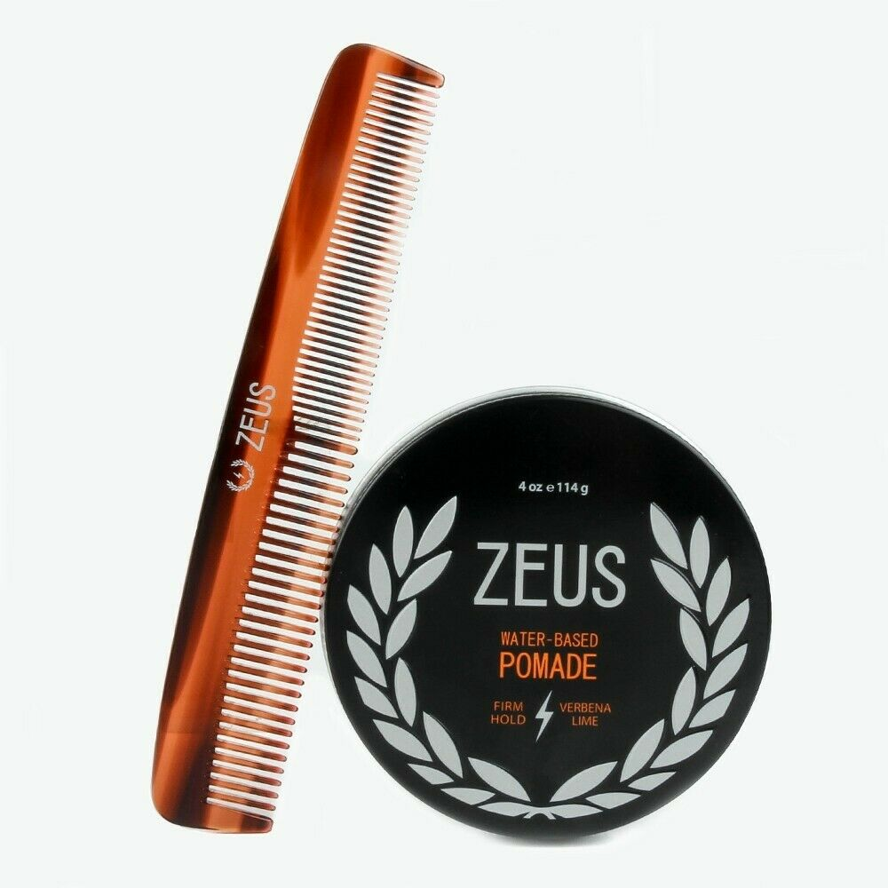 All Day Restyling Zeus Comb And Water Based Pomade With All
