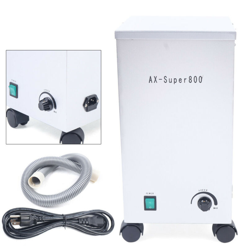 Dental Lab Dust Collector Portable Vacuum Cleaner Dust Removal Machine110V