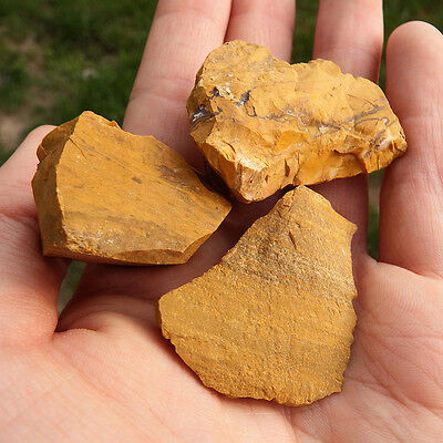 Yellow Jasper (1) Crystal Natural raw rough healing Solar Plexus chakra stones
