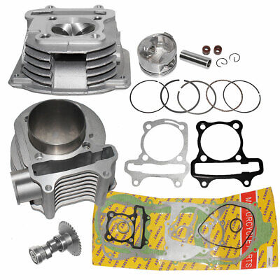 Cylinder and Head 61mm 180cc Big Bore Kit GY6 150cc Scooters Mopeds Performance 150 Cc Cylinder Head