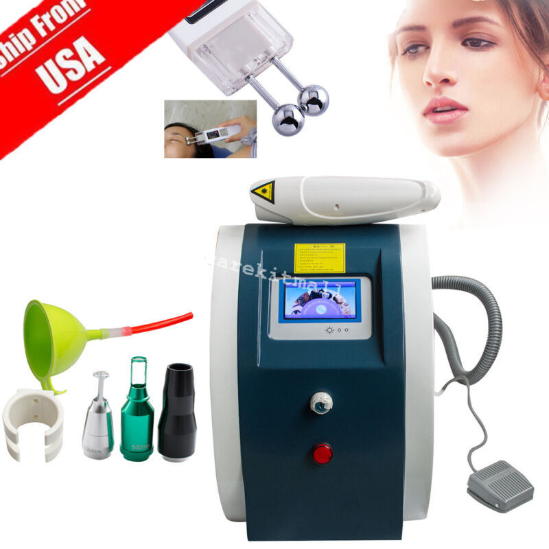 Professional Laser Tattoo Eyebrow Pigment Removal Beauty Machine+Faical Lift Spa