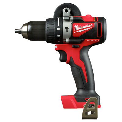 Milwaukee 2902-80 M18 Brushless 12 In Hammer Drill Tool Certified Refurbished