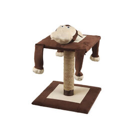 UNWRAPPED BRAND NEW ANCOL ACTICAT LAZY MONKEY CAT SCRATCHING POST