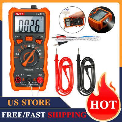 Lcd Digital Voltmeter Ammeter Multimeter Voltage Current Ac Dc Tester Meter J5g4