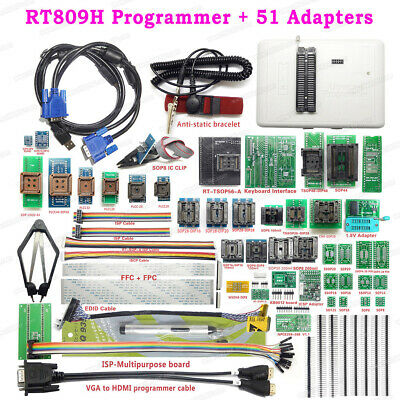 Rt809h Emmc-nand Flash Programmer 51 Adapter Super Combination