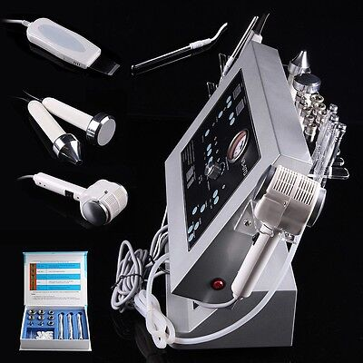 US Diamond Microdermabrasion Ultrasound Cold Warm Hammer Skin Scrubber Equipment for sale  Shipping to Canada
